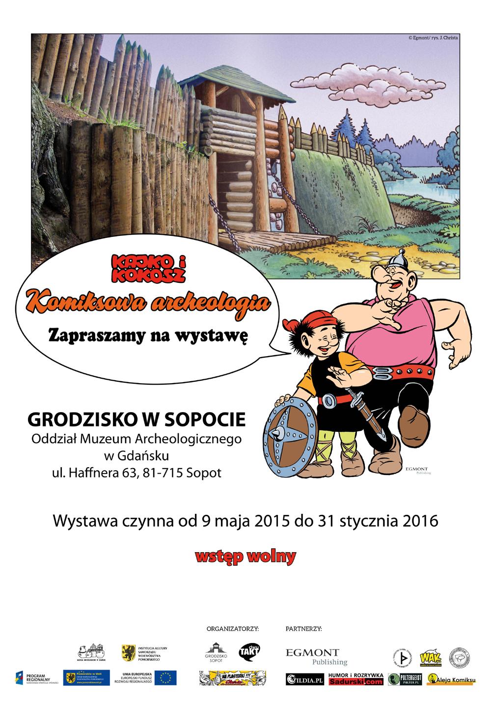 Komiksowa Archeologia w sopockim Grodzisku. Dwa światy w jednym miejscu (zdjęcia)