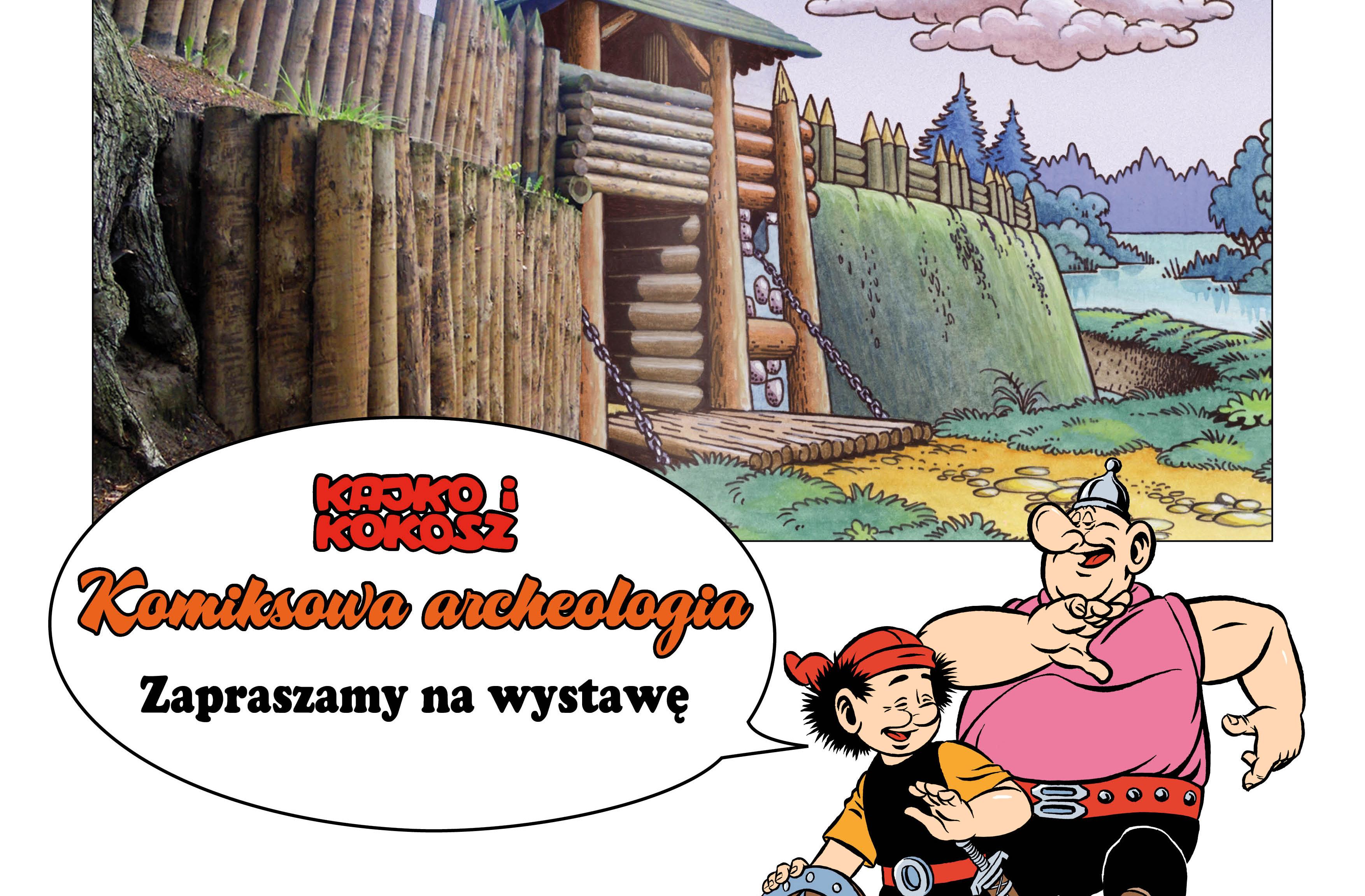 """""""Komiksowa archeologia"""" w Ostrołęce"""