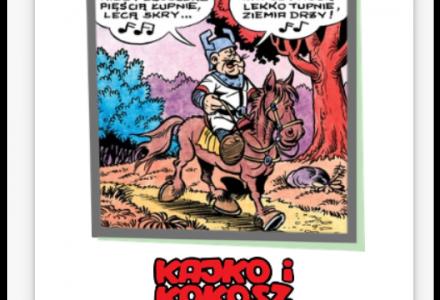 Kalendarz 2019: Kultowe przyśpiewki z komiksów Kajko i Kokosz Janusza Christy – idealny prezent dla każdego Fana
